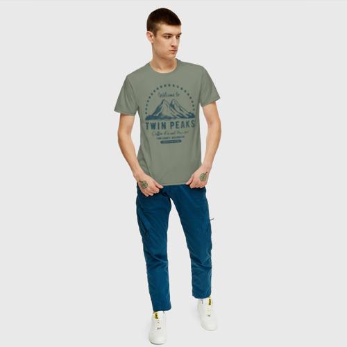 Мужская футболка хлопок Твин Пикс Фото 01
