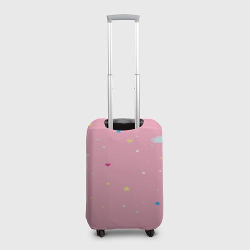 Чехол для чемодана 3D Алиса - единорожка Фото 01