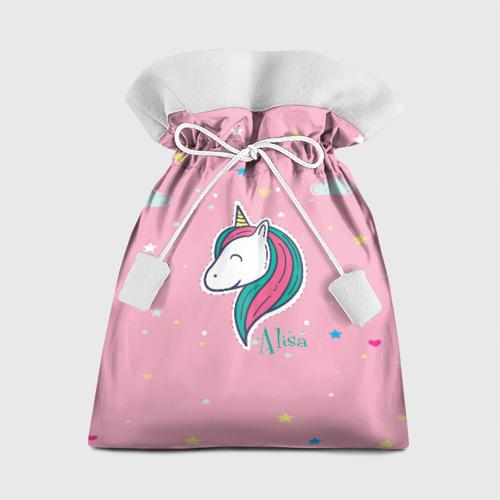 Подарочный 3D мешок Алиса - единорожка Фото 01