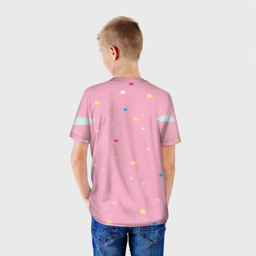 Детская футболка 3D Алиса - единорожка Фото 01