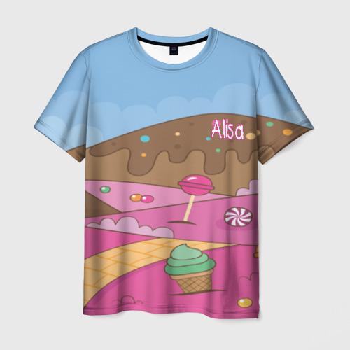 Мужская футболка 3D Alisa SweatLand