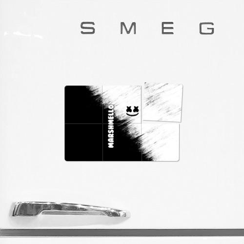 Магнитный плакат 3Х2 Marshmello 3 Фото 01