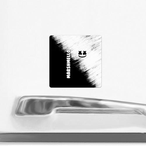 Магнит виниловый Квадрат Marshmello 3 Фото 01