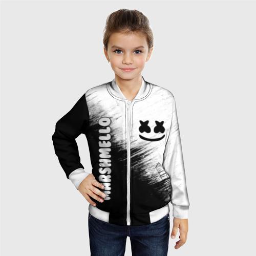 Детский бомбер 3D Marshmello 3 Фото 01
