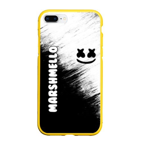 Чехол для iPhone 7/8 Plus матовый Marshmello 3 Фото 01