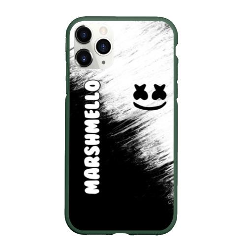 Чехол для iPhone 11 Pro матовый Marshmello 3 Фото 01
