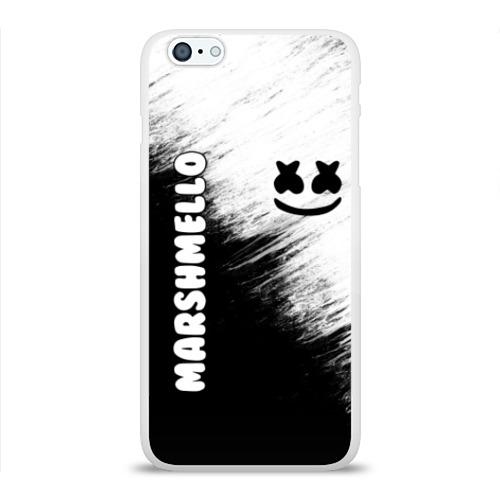 Чехол для iPhone 6/6S Plus глянцевый Marshmello 3 Фото 01