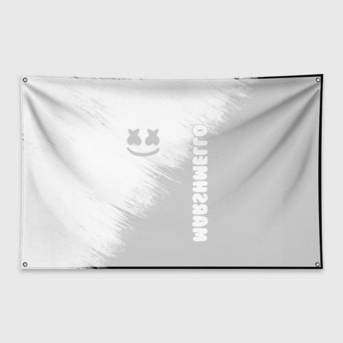 Флаг-баннер Marshmello 3 Фото 01