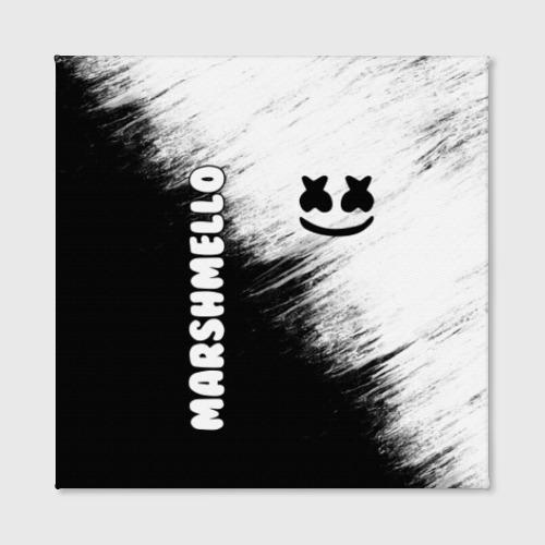 Холст квадратный Marshmello 3 Фото 01