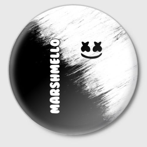 Значок Marshmello 3 Фото 01