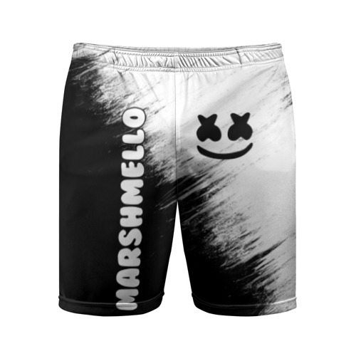 Мужские шорты спортивные Marshmello 3 Фото 01