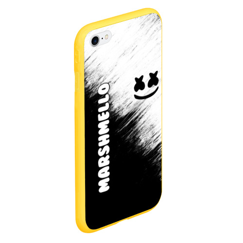 Чехол для iPhone 6/6S Plus матовый Marshmello 3 Фото 01