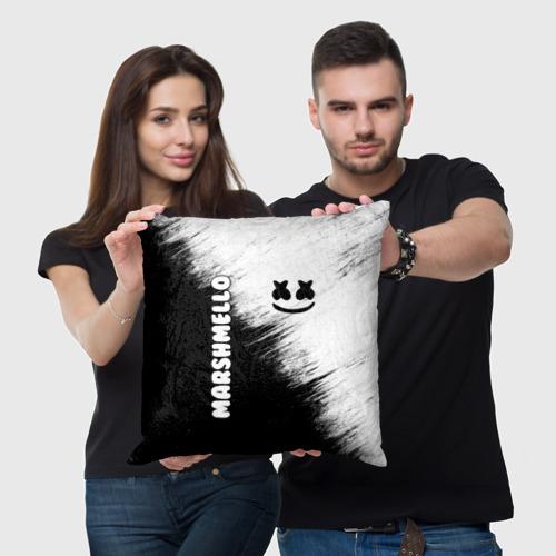 Подушка 3D Marshmello 3 Фото 01