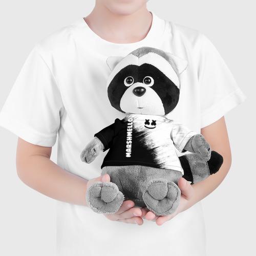 Енотик в футболке 3D Marshmello 3 Фото 01