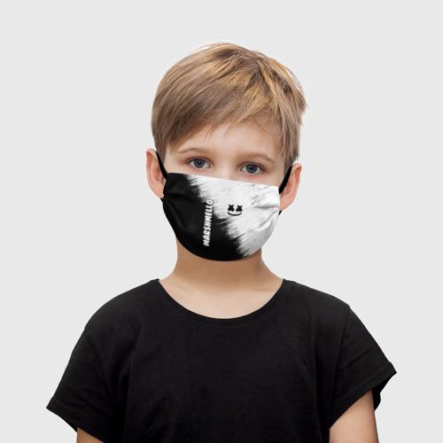 Детская маска (+5 фильтров) Marshmello 3 Фото 01