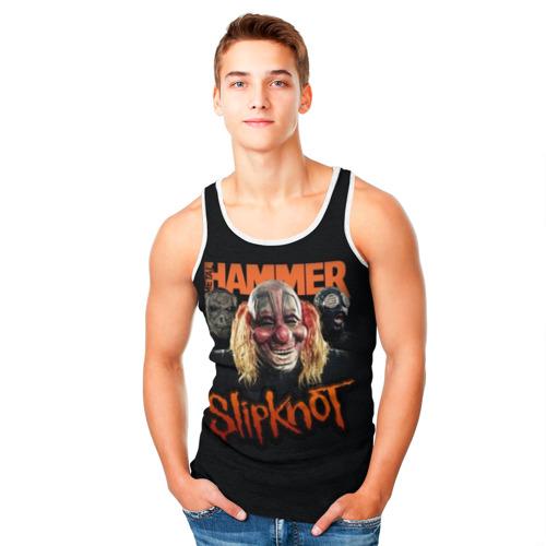 Мужская майка 3D Slipknot Фото 01