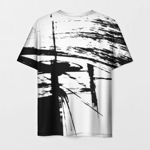 Мужская футболка 3D Черно-белая футболка Фото 01