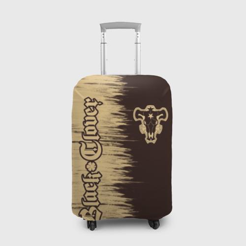 Чехол для чемодана 3D Черный Клевер (Черный Бык) 2 Фото 01