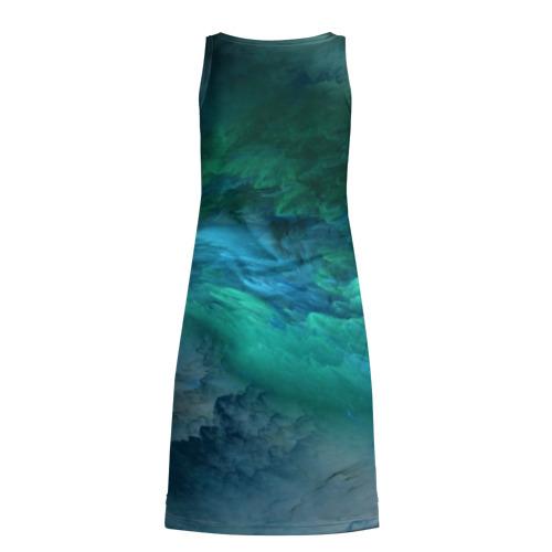 Платье-майка 3D Изумрудные Облака Фото 01
