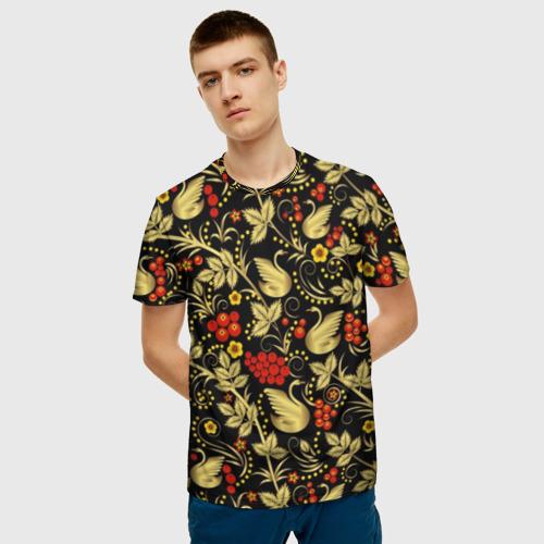 Мужская футболка 3D Хохлома Фото 01