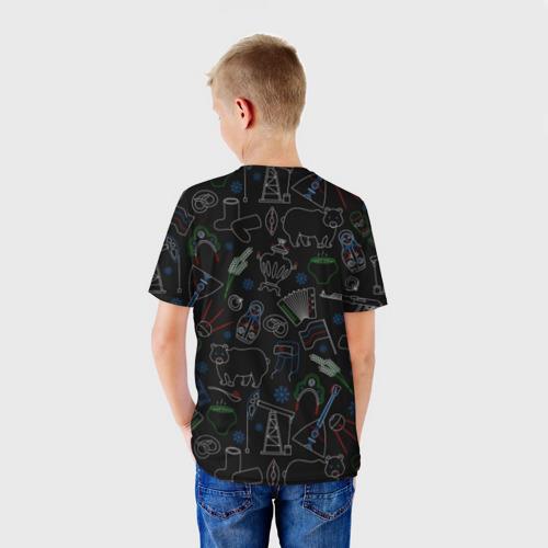 Детская футболка 3D  Фото 02, Русский орнамент