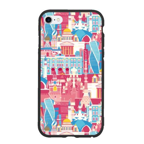 Чехол для iPhone 6Plus/6S Plus матовый Москва Фото 01