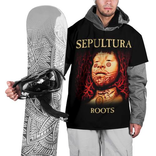 Накидка на куртку 3D Sepultura M