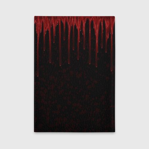 Обложка для автодокументов Кровь Фото 01