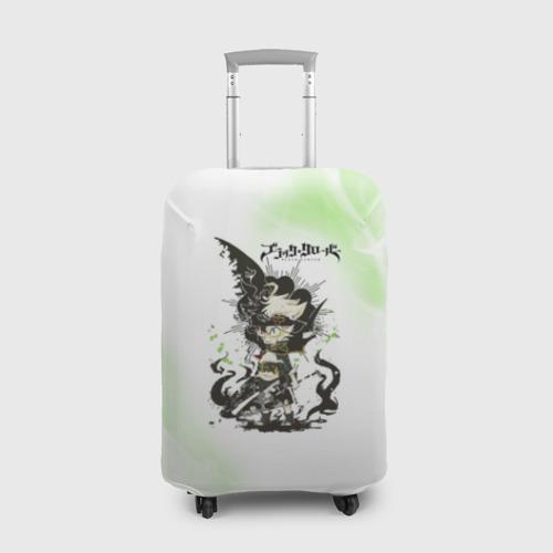 Чехол для чемодана 3D Чёрный клевер Фото 01