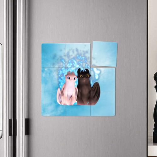 Магнитный плакат 3Х3 ночная фурия Фото 01