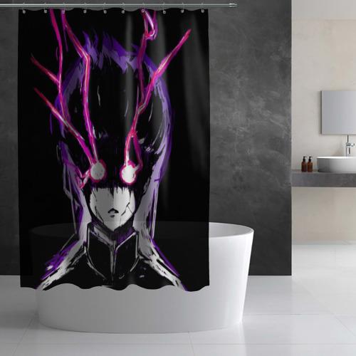 Штора 3D для ванной Шигэо Кагэяма 100% Фото 01