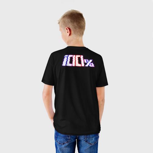 Детская футболка 3D Шигэо Кагэяма 100% Фото 01