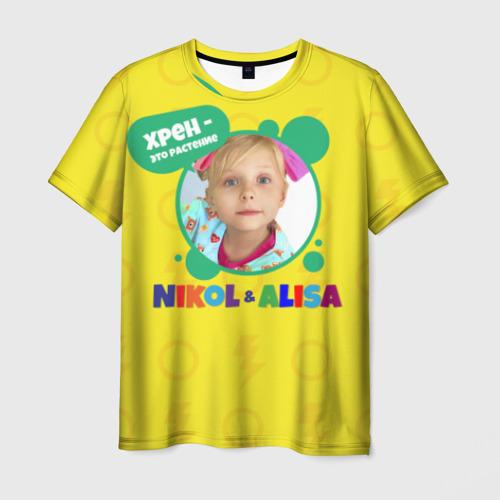 Мужская футболка 3D Nikol