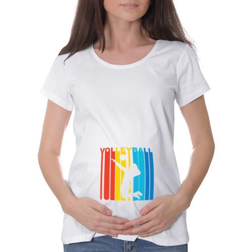 Футболка для беременных хлопок  Фото 01, Волейбол
