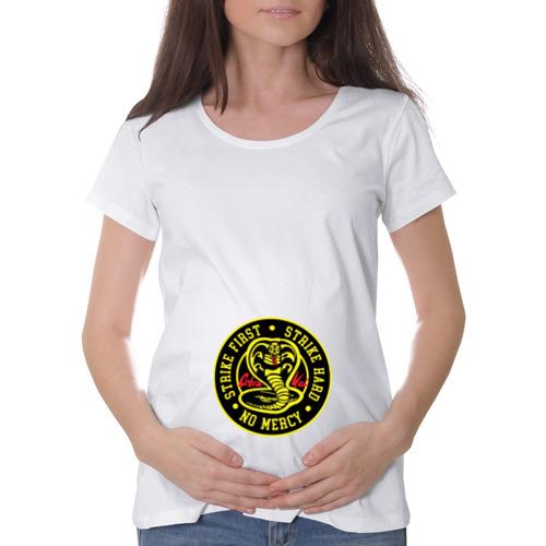 Футболка для беременных хлопок Cobra Kai Фото 01