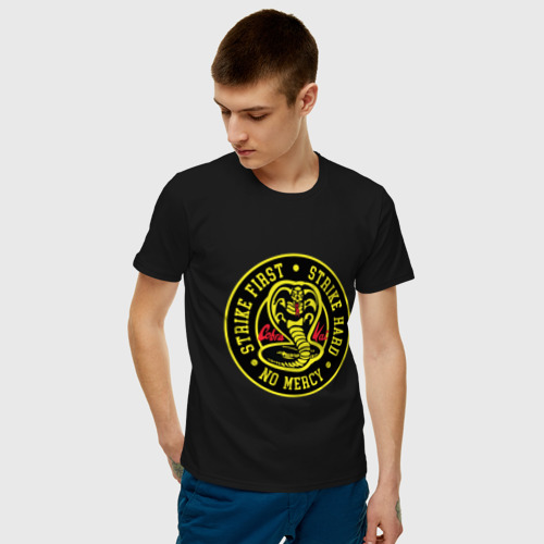 Мужская футболка хлопок Cobra Kai Фото 01