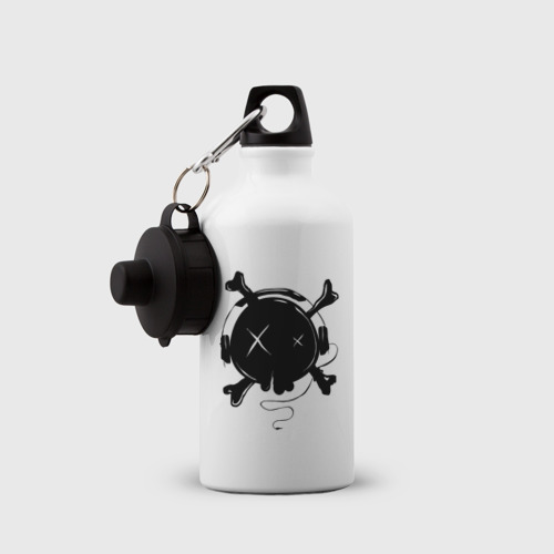 Бутылка спортивная Skull Music Фото 01