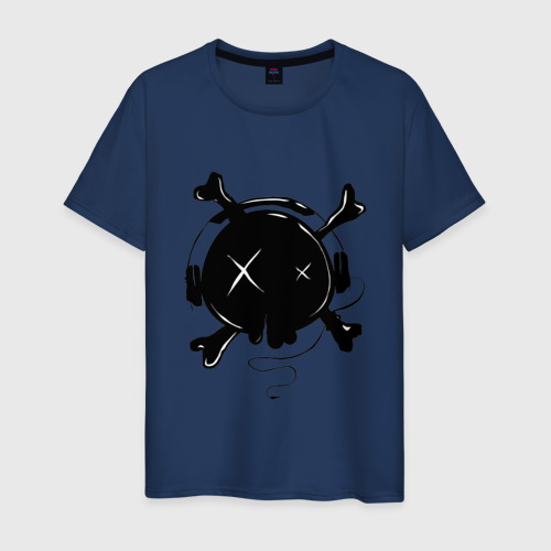 Мужская футболка хлопок Skull Music Фото 01