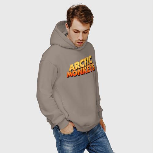 Мужское худи Oversize хлопок Arctic Monkeys Фото 01