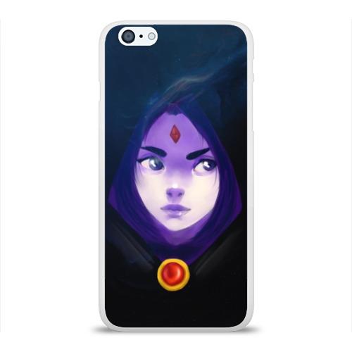 Чехол для Apple iPhone 6Plus/6SPlus силиконовый глянцевый Raven Фото 01