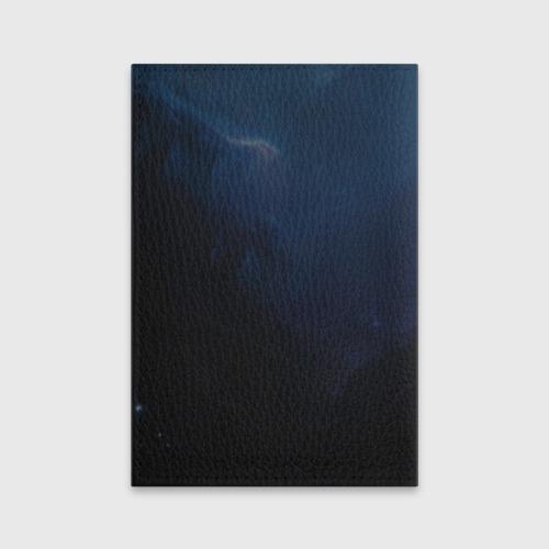 Обложка для паспорта матовая кожа Raven Фото 01