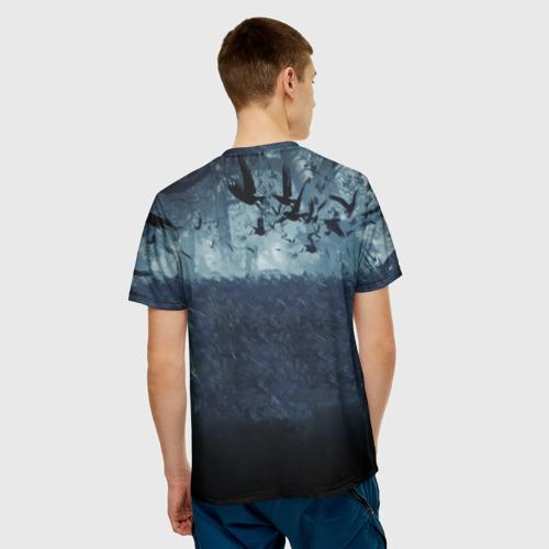 Мужская футболка 3D  Фото 02, The witcher