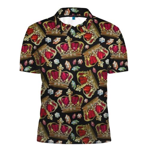 Мужская рубашка поло 3D Короны