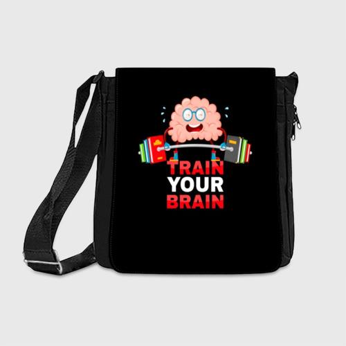 Сумка через плечо Train your brain Фото 01