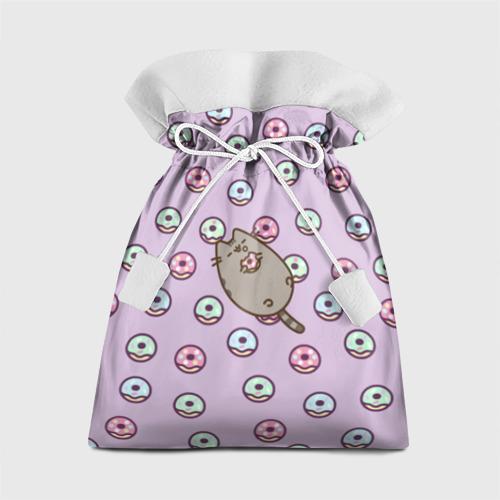 Подарочный 3D мешок Pusheen с пончиками Фото 01