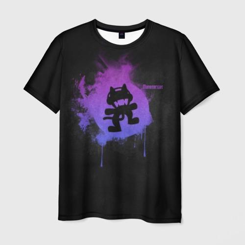 Мужская футболка 3D Monstercat Фото 01