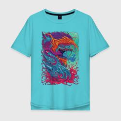 Мужская футболка хлопок OversizeHyper Beast