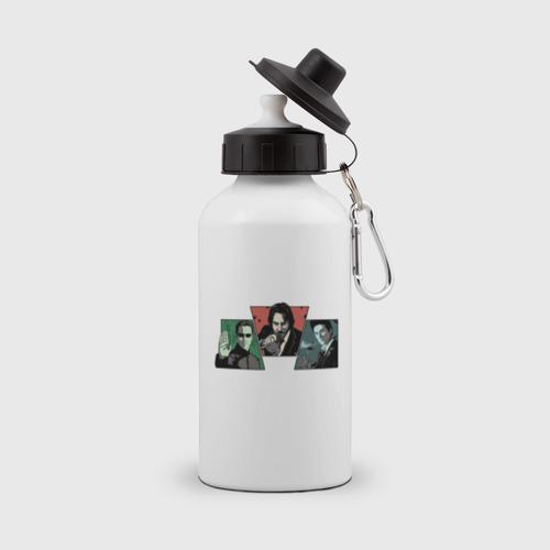 Бутылка спортивная Киану Ривз