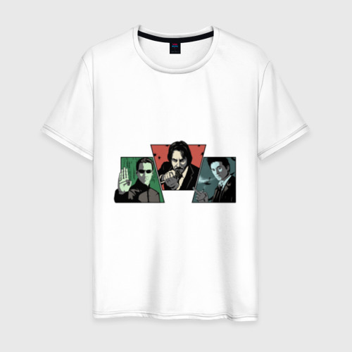 Мужская футболка хлопок Киану Ривз