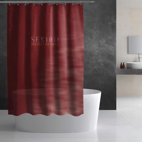 Штора 3D для ванной  Фото 02, Sekiro: Shadows Die Twice